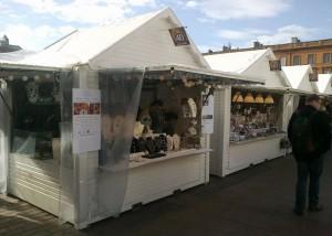 marché de noel Toulouse 2014