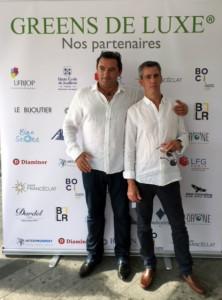 Lionel Corvisier & Renaud Fonverne à Green de Luxe - Juillet 2018