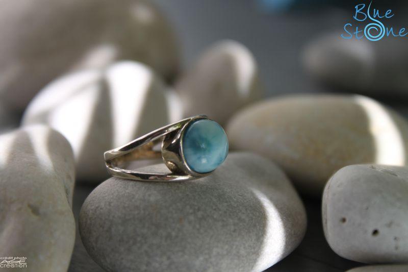 pierre fine gemme et larimar by blue stone