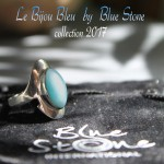 collection bijoux blue stone