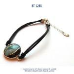 bracelet argent 925 silver abalone pawa larimar