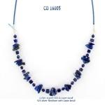 larimar necklace collier blue stone argent 925 silver lapis-lazuli
